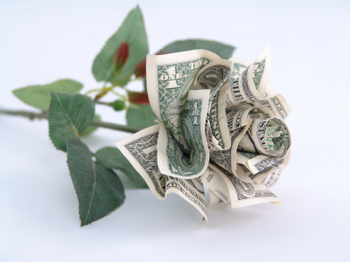 How To Make An Origami Rose Out Of Money